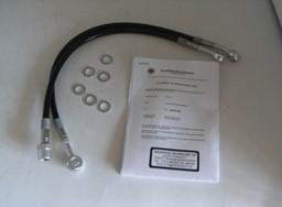 Stahlflex Bremsleitung schwarz für Honda CB 500 F 71-77 CB500F Vorne